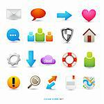 A Collection of Icons and Symbols, vector designs. Stock Photo - Royalty-Free, Artist: solarseven                    , Code: 400-06085157
