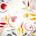 floral abstract background Stock Photo - Royalty-Free, Artist: Sergio77                      , Code: 400-06085313