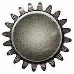 Designed round metal background, texture Stock Photo - Royalty-Free, Artist: donatas1205                   , Code: 400-06085613