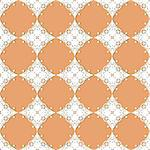 vector seamless vintage lacy  pattern Stock Photo - Royalty-Free, Artist: alexmakarova                  , Code: 400-06087417