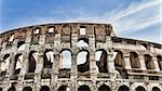 The ancient Colosseum in Rome, Italy Stock Photo - Royalty-Free, Artist: frankix                       , Code: 400-06088523