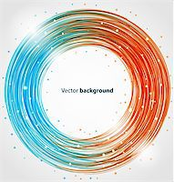 Abstract circle bright colorful background. Vector illustration eps10 Stock Photo - Royalty-Freenull, Code: 400-06090518
