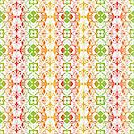 Beautiful background of seamless floral pattern Stock Photo - Royalty-Free, Artist: inbj                          , Code: 400-06091391