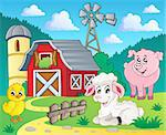 Farm theme image 5 - vector illustration. Stock Photo - Royalty-Free, Artist: clairev                       , Code: 400-06091837