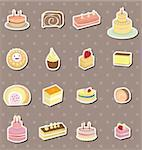 cake stickers Stock Photo - Royalty-Free, Artist: notkoo2008                    , Code: 400-06092732