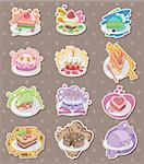 cake stickers  Stock Photo - Royalty-Free, Artist: notkoo2008                    , Code: 400-06094289