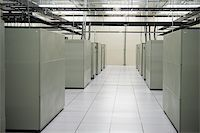 Image of the interior of a data storage facility Stock Photo - Royalty-Freenull, Code: 400-06094771