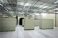 Interior view of a data center with equipment Stock Photo - Royalty-Freenull, Code: 400-06094772