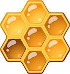 Honeycomb Stock Photo - Royalty-Free, Artist: jara3000                      , Code: 400-06096065