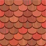 red clay ceramic roof tiles seamless texture Stock Photo - Royalty-Free, Artist: 100ker                        , Code: 400-06098614