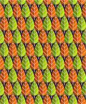 Illustrated seamless pattern of red and green leaf shape Stock Photo - Royalty-Free, Artist: nikdoorg                      , Code: 400-06099270