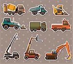 truck stickers Stock Photo - Royalty-Free, Artist: notkoo2008                    , Code: 400-06099779