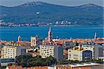 Zadar cityscape and Island of Ugljan, Croatia, Dalamtia Stock Photo - Royalty-Free, Artist: xbrchx                        , Code: 400-06099868
