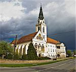 Greek catholic cathedral in Krizevci, Croatia Stock Photo - Royalty-Free, Artist: xbrchx                        , Code: 400-06099896