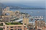 view of Monaco bay with luxury boats. French Riviera Stock Photo - Royalty-Free, Artist: porojnicu                     , Code: 400-06100197