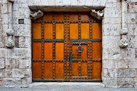 Detail of  Portal of the Gothic Church in Burgos, Spain Stock Photo - Royalty-Freenull, Code: 400-06101824