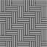 Seamless geometric herringbone pattern. Vector art. Stock Photo - Royalty-Free, Artist: troyka                        , Code: 400-06101966