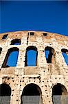 Colosseum in Rome with blue sky, landmark of the city Stock Photo - Royalty-Free, Artist: Perseomedusa                  , Code: 400-06102057