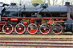 steam locomotive, Veendam - Stadskanaal, Netherlands Stock Photo - Royalty-Free, Artist: phbcz                         , Code: 400-06105696