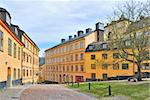 Stockholm. The old steep streets in the area of Sodermalm Stock Photo - Royalty-Free, Artist: TatyanaSavvateeva             , Code: 400-06106668