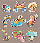 playground stickers Stock Photo - Royalty-Free, Artist: notkoo2008                    , Code: 400-06107763