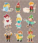 story people stickers Stock Photo - Royalty-Free, Artist: notkoo2008                    , Code: 400-06107767