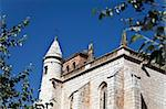Church built in the 16th century in gothic style, Tordesillas, Spain Stock Photo - Royalty-Free, Artist: ribeiroantonio                , Code: 400-06108073