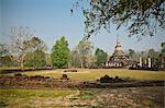 Si Satchanalai Historical Park Stock Photo - Premium Royalty-Free, Artist: Robert Harding Images    , Code: 621-06111259