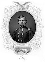 franxyz - 1800s 1860s PORTRAIT GERMAN BORN GENERAL FRANZ SIGEL BATTLE OF CARTHAGE MISSOURI 1861 Stock Photo - Premium Rights-Managednull, Code: 846-06112291