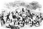 1860s FEBRUARY 8 1862 AMERICAN CIVIL WAR GENERAL BURNSIDES EXPEDITION TAKING ROANOKE ISLAND AT BAYONET POINT Stock Photo - Premium Rights-Managed, Artist: ClassicStock, Code: 846-06112317