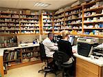 Pharmacists working in office Stock Photo - Premium Royalty-Free, Artist: Blend Images, Code: 649-06112716