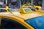 Close up of Turkish taxi sign Stock Photo - Premium Royalty-Free, Artist: Siephoto, Code: 649-06113059