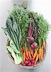Basket of fresh vegetables Stock Photo - Premium Royalty-Free, Artist: Cultura RM, Code: 649-06113188