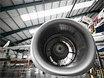 Close up of airplane engine Stock Photo - Premium Royalty-Free, Artist: Blend Images, Code: 649-06113331