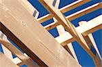 Close up of roof under construction Stock Photo - Premium Royalty-Free, Artist: AWL Images, Code: 649-06113877