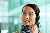switchboard operator - Office worker wearing headset Stock Photo - Premium Royalty-Freenull, Code: 614-06116514