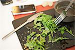 Arugula salad Stock Photo - Premium Royalty-Free, Artist: CulturaRM, Code: 632-06118591