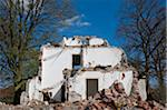 Partially Demolished Building Stock Photo - Premium Rights-Managed, Artist: Bettina Salomon, Code: 700-06119559