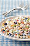 Plate Full of Pills Stock Photo - Premium Royalty-Free, Artist: Jean-Christophe Riou, Code: 600-06119625