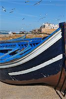 Close-Up of Fishing Boat, Essaouira, Morocco Stock Photo - Premium Rights-Managednull, Code: 700-06119740