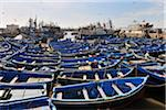 Fishing boats, Essaouira, Morocco Stock Photo - Premium Rights-Managed, Artist: Raimund Linke, Code: 700-06119741