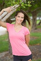 Portrait of Woman, Florida, USA Stock Photo - Premium Royalty-Freenull, Code: 600-06125597