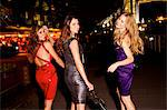 Girls night out in London by Tower Bridge Stock Photo - Premium Rights-Managed, Artist: urbanlip.com, Code: 847-06125704