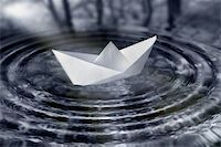 Paperboat Stock Photo - Royalty-Freenull, Code: 400-06132471