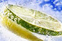 lemon in water Stock Photo - Royalty-Freenull, Code: 400-06134516