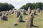 Ancient stone viking graves in Aalborg, Denmark Stock Photo - Royalty-Free, Artist: Goodday                       , Code: 400-06136825