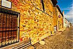 Narrow Alley with Old Buildings in the Italian City of Trevinano Stock Photo - Royalty-Free, Artist: gkuna                         , Code: 400-06137105
