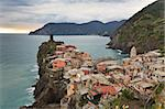 Vernazza fishermen village in Cinque Terre, unesco world heritage in Italy Stock Photo - Royalty-Free, Artist: porojnicu                     , Code: 400-06138031