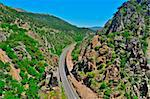 A view of Despenaperros canyon, in Spain Stock Photo - Royalty-Free, Artist: nito                          , Code: 400-06139172