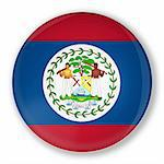 Illustration of a badge with flag of Belize with shadow Stock Photo - Royalty-Free, Artist: marphotography                , Code: 400-06140173
